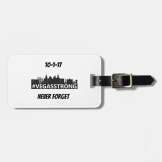 Vegas Strong Luggage Tag