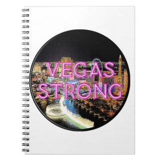 Vegas Strong Pink Notebook