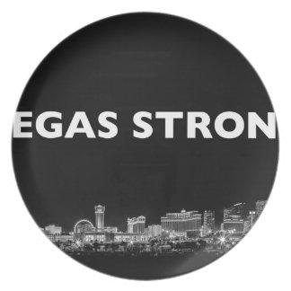 vegas strong plate