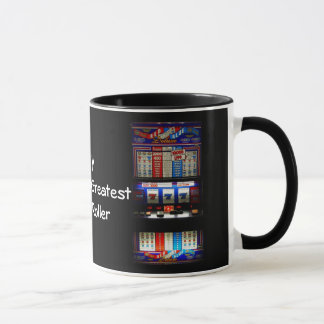 Vegas Style Casino Gambler Slot Machine Mug