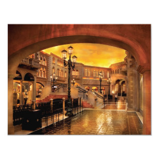 Vegas - Venetian - The streets of Venice Card
