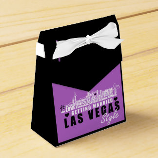 Vegas Wedding Gift Ideas - Favour Boxes