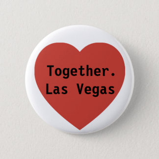 #vegasSTRONG Tribute  |  Prayers For Las Vegas 2 Inch Round Button