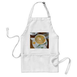 Vegetabla Soup With Sour Cream Standard Apron