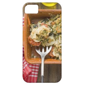 Vegetable bake with potatoes, tomatoes, leeks iPhone 5 covers