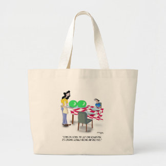 Vegetable Cartoon 9269 Jumbo Tote Bag