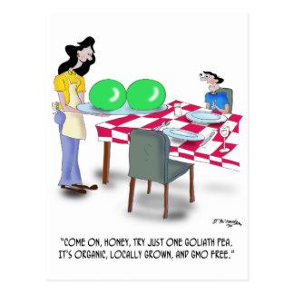 Vegetable Cartoon 9269 Postcard