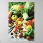 Vegetable feast print