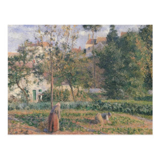 Vegetable Garden at the Hermitage Postcard