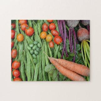 Vegetable harvest jigsaw puzzle