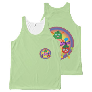 Vegetable POWER! All-Over-Print Tank Top