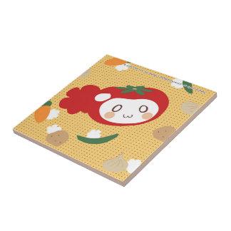 Vegetable tail tiles
