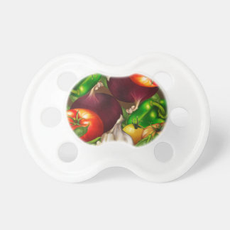 Vegetables and Herbs Organic Natural Veggies Food Pacifier