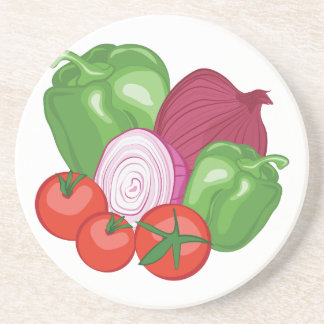 Vegetables Beverage Coaster