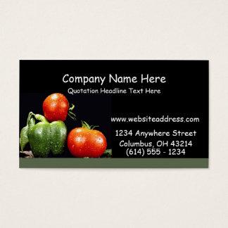 Vegetables Business Cards