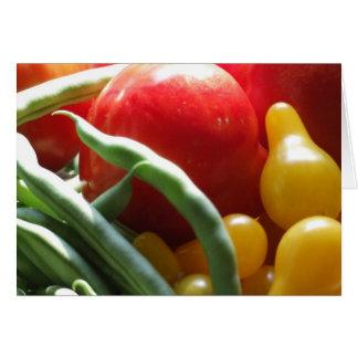 Vegetables Card
