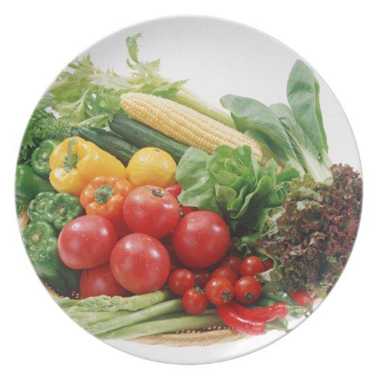 Vegetables Dinner Plate