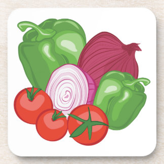 Vegetables Drink Coaster
