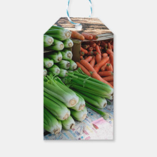 vegetables gift tags