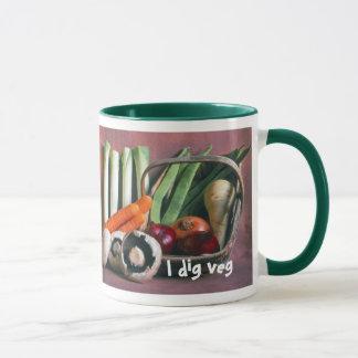 Vegetables-in-trug mug