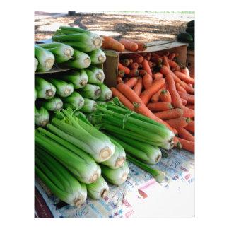 vegetables letterhead