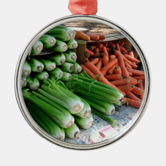 vegetables metal ornament