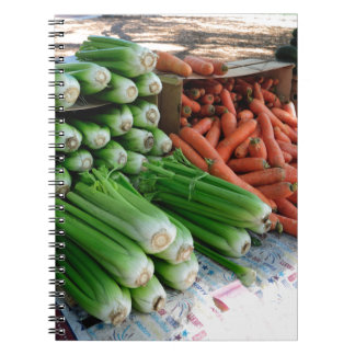 vegetables notebook