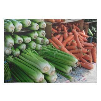 vegetables placemat