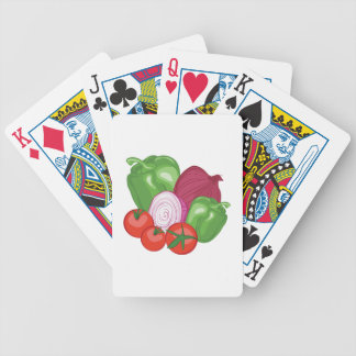 Vegetables Poker Deck