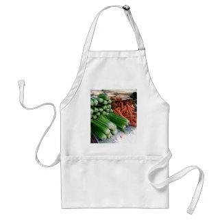 vegetables standard apron