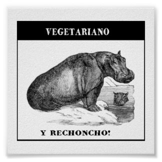 Vegetarian and gordinho poster
