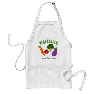 Vegetarian Apron - kawaii vegetables