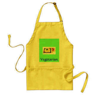 "Vegetarian Chef - ""Thai Wrap"" - Customized Standard Apron"