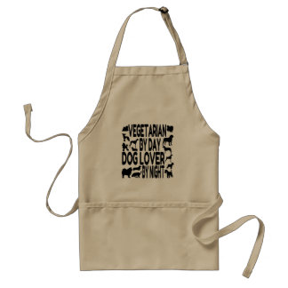 Vegetarian Dog Lover Standard Apron