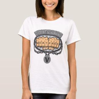 Vegetarian Fists T-Shirt