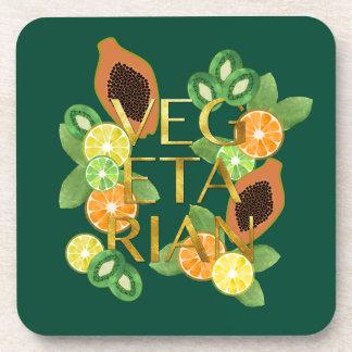 Vegetarian Fruit Coaster