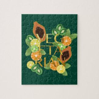 Vegetarian Fruit Jigsaw Puzzle