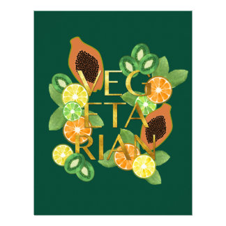 Vegetarian Fruit Letterhead