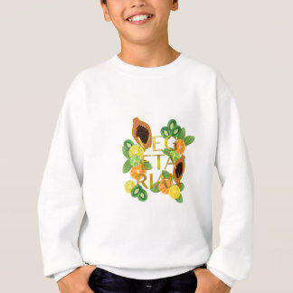 Vegetarian Fruit Sweatshirt