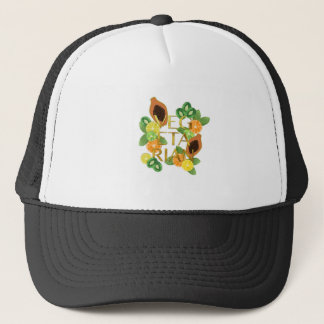 Vegetarian Fruit Trucker Hat
