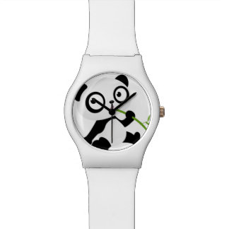 Vegetarian Pandinha clock Watch