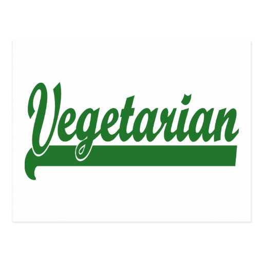 Vegetarian Postcards