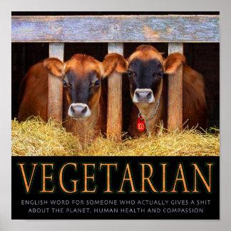Vegetarian! Poster