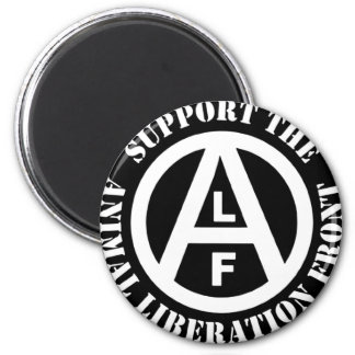 Vegetarian Vegan Support Animal Liberation Front Magnet