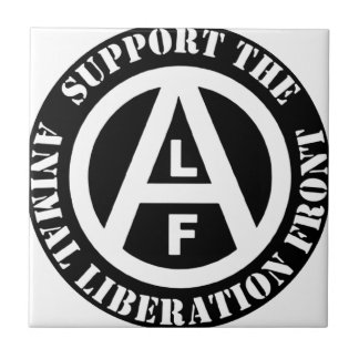 Vegetarian Vegan Support Animal Liberation Front Tiles