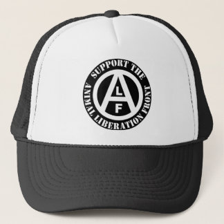 Vegetarian Vegan Support Animal Liberation Front Trucker Hat
