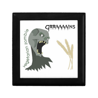 Vegetarian Zombie wants Graaaains! Gift Box