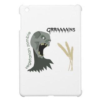 Vegetarian Zombie wants Graaaains! iPad Mini Cases