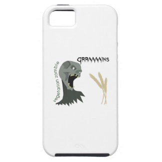 Vegetarian Zombie wants Graaaains! iPhone 5 Cover