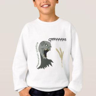 Vegetarian Zombie wants Graaaains! Sweatshirt